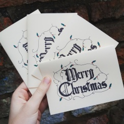 My Christmas cards